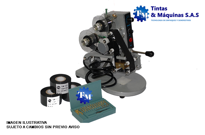 Codificador Hot Stamping Manual